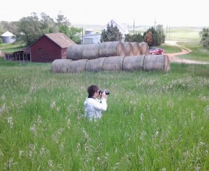 """Adventures in North Dakota where """"Waiting For Daddy's Hug"""" was inspired."""